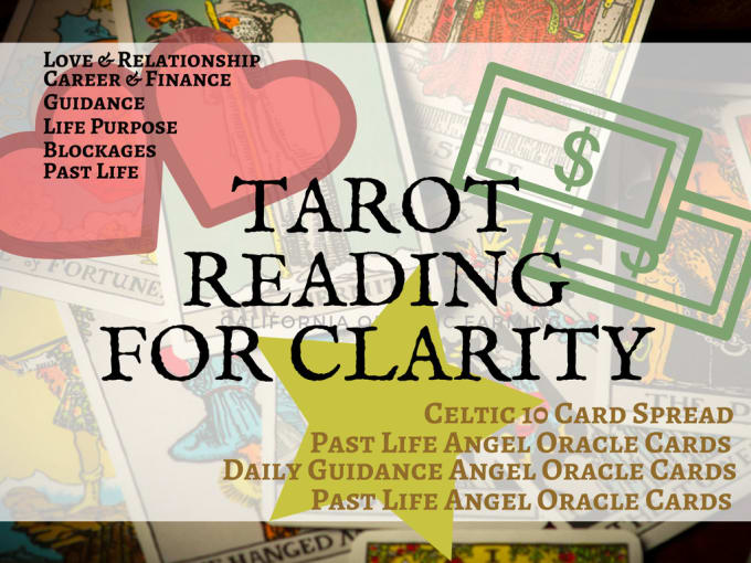 give you a tarot reading for clarity