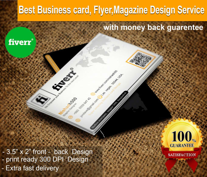 Create attractive business card flyer magazine design by nishadh500 create attractive business card flyer magazine design reheart Gallery