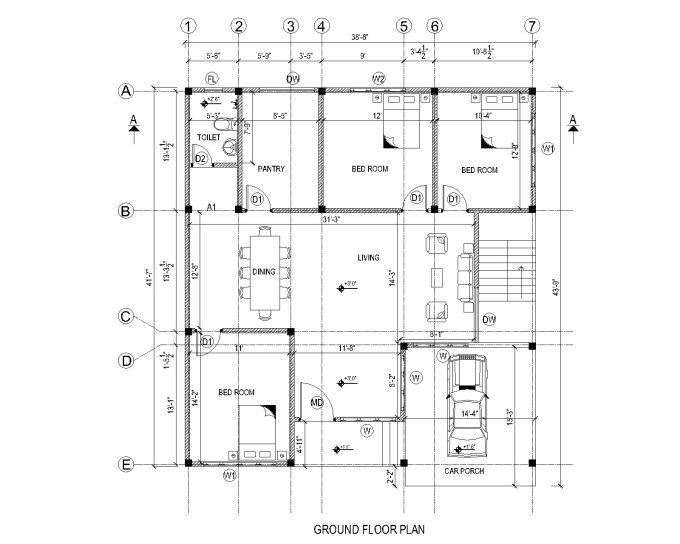 do design floor plan site plan 2d or 3d in autocad revit sketchup by emmakim1