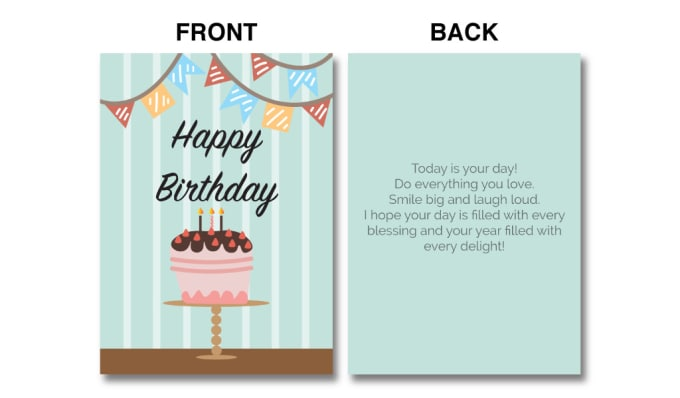 Design A Birthday Card With 3 Different Concepts By Qe115