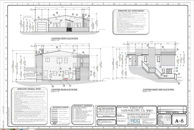ryanyahner : I will produce construction drawings for your projects for  $500 on www fiverr com