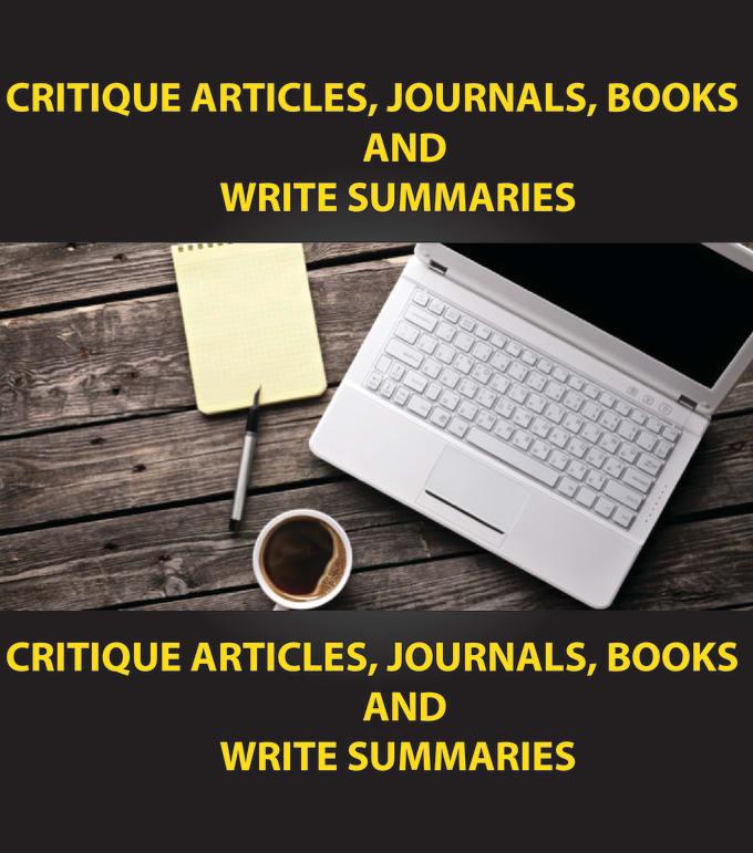 critique articles