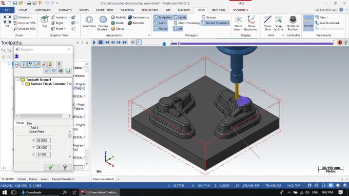cnc programming for mastercam and other software