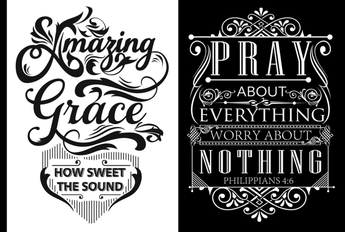 Do Typography For Tshirt Design Logo Or Anything By Prdesignstudio
