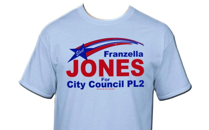 5a4ef172 Do usa political campaign t shirt logo design only 15 hours by Keendo36