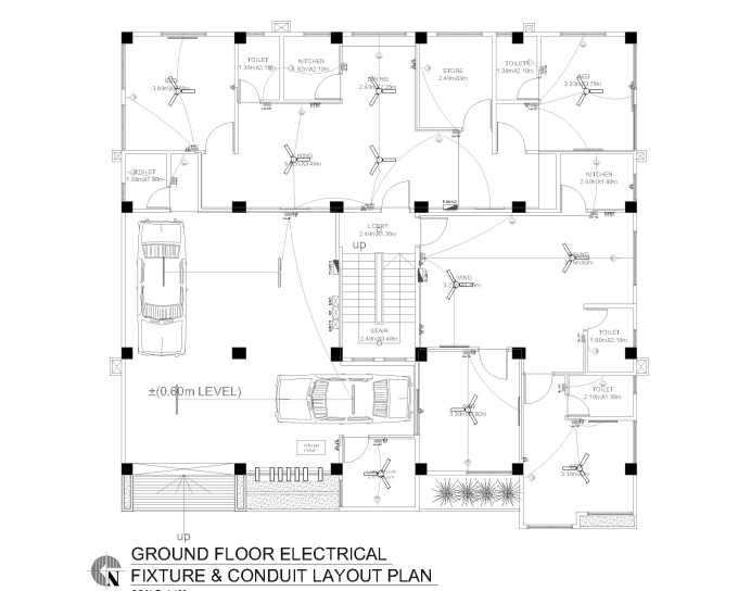 deign electrical plan and electrical drawing for your