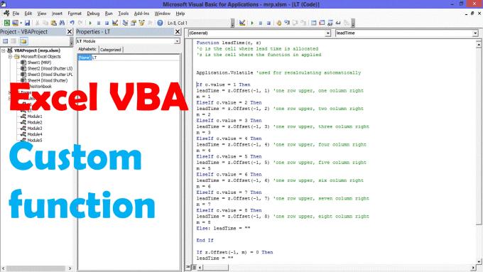akib18 : I will create excel vba custom function for $5 on www fiverr com