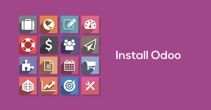 install odoo erp 12, 11, 10 and fix odoo modules