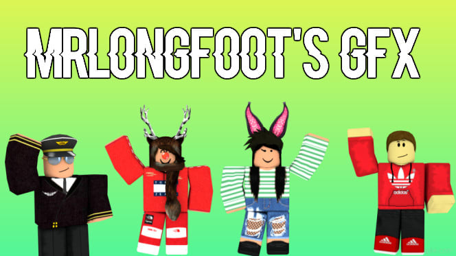 Make A Gfx Of A Roblox Character Of Your Choice By Mrlongfoot