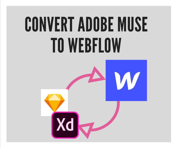 convert your adobe xd or sketch design to webflow