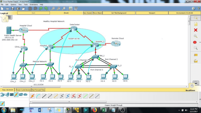 asist in cisco desgin and packet tracer and gns3