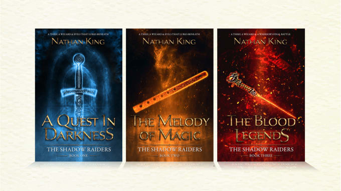 Design Fantasy Fiction Romance Book Covers By Hyperteddy