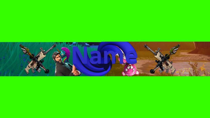 Make A Fortnite Youtube Banner Or Icon For Nice Price By Ronengf