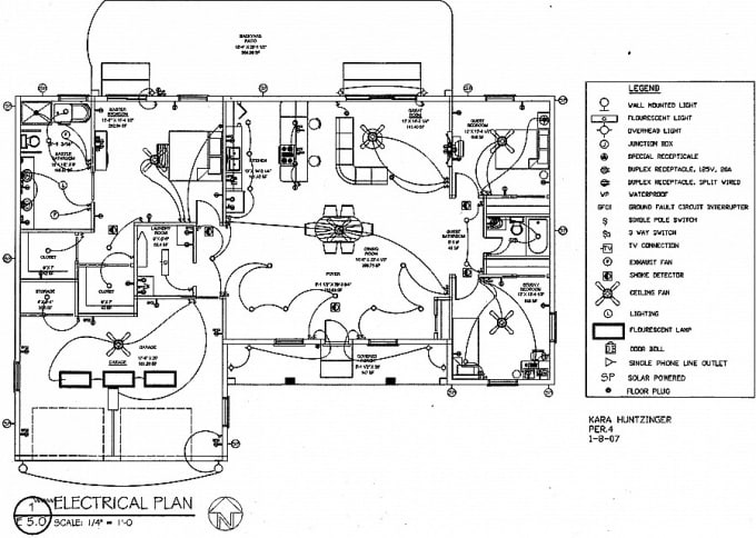 Fine Design Electrical Plans Load Calcultion Sld Drawing By 2D By Wiring Database Gramgelartorg