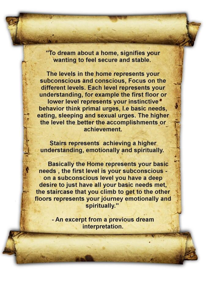 interpret your dreams for you
