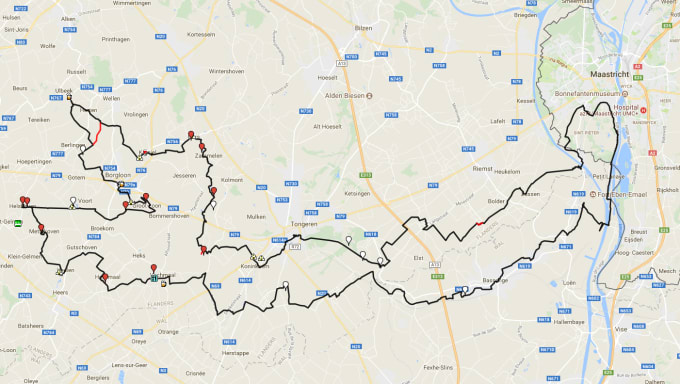 draw you gpx routes