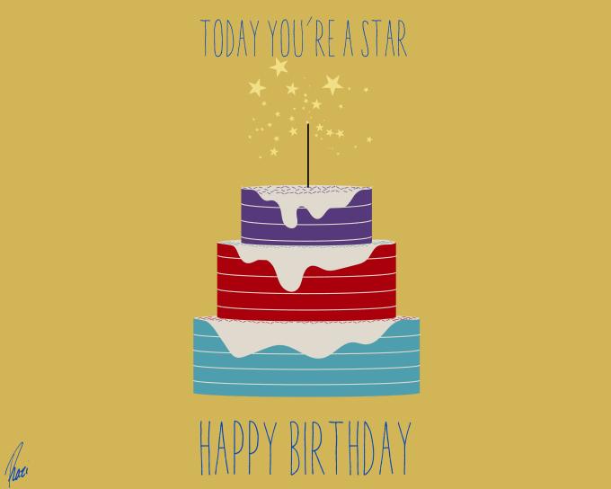 Make A Custom Happy Birthday Card By Razivisuals
