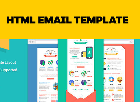 Design your email template in html by Smartiegirl