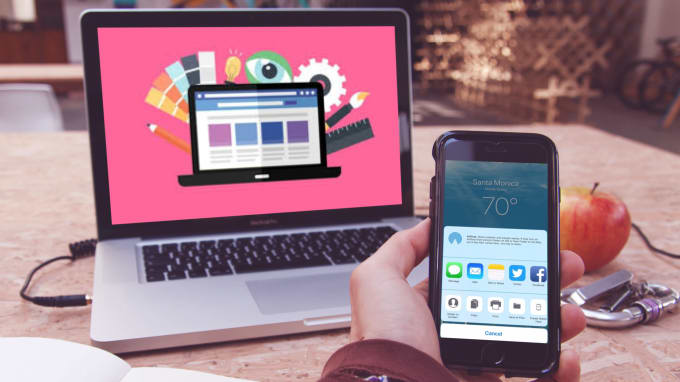 Create An Awesome Imac Macbook Ipad Iphone Mockup Design