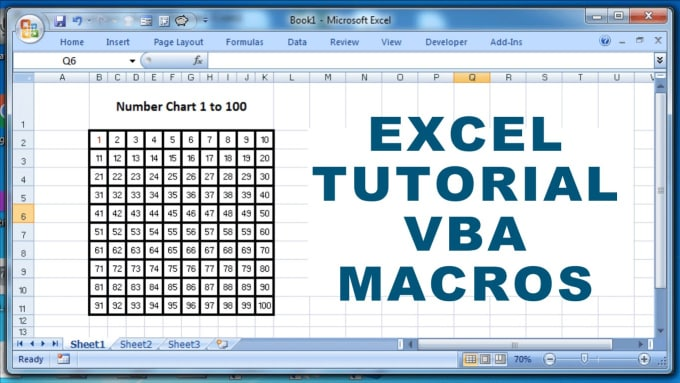 freelance4life1 : I will teach you how to code in excel using vba for $30  on www fiverr com