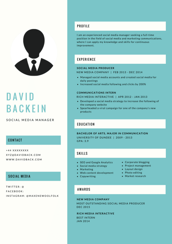 write, rewrite, design responsive resume and cover letter