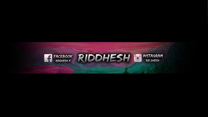 Desing an amazing gaming youtube banners for you by ridd1453 - Youtube banner pictures ...