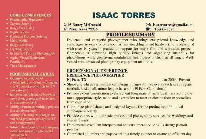 upgrade a resume,cv,cover letter,or linkedin