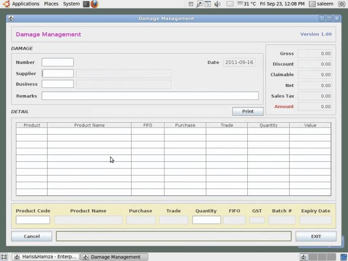 code a java database application