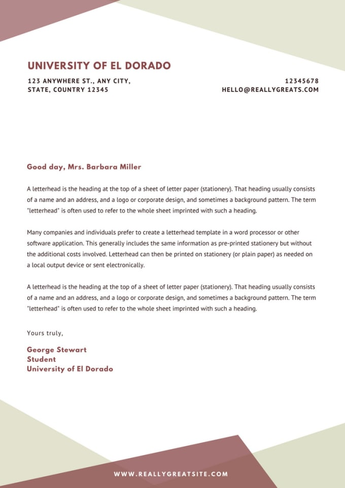design your resume and cover letter to be highlighted