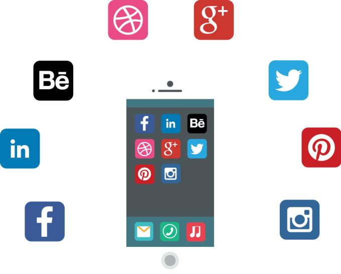 integrate third party api like facebook twitter tumblr instagram google