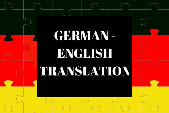 translating german to english