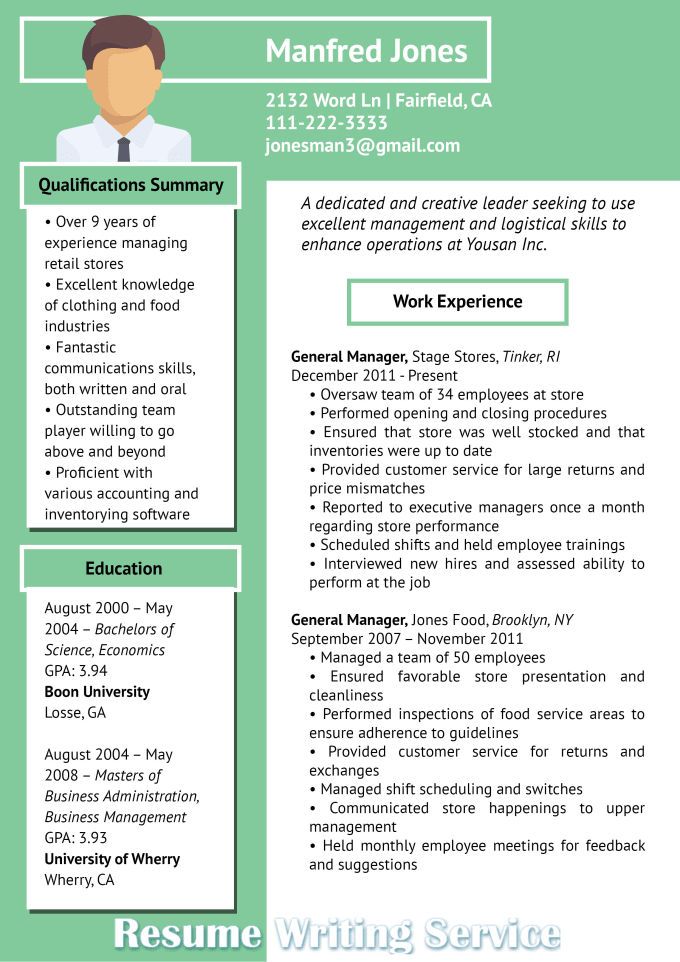 write an amazing eye catching resume and cover letter by