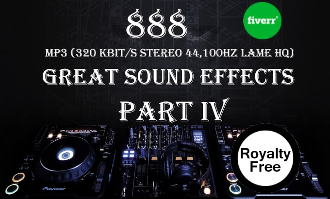 give you 888 sound effects mp3