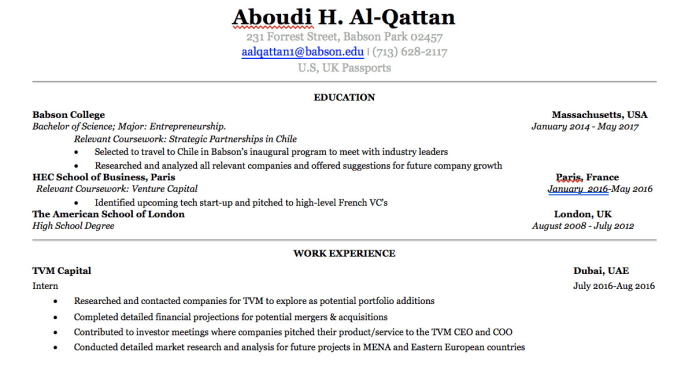 Edit your resume or cover letter at a very high level by Aboudialqattan