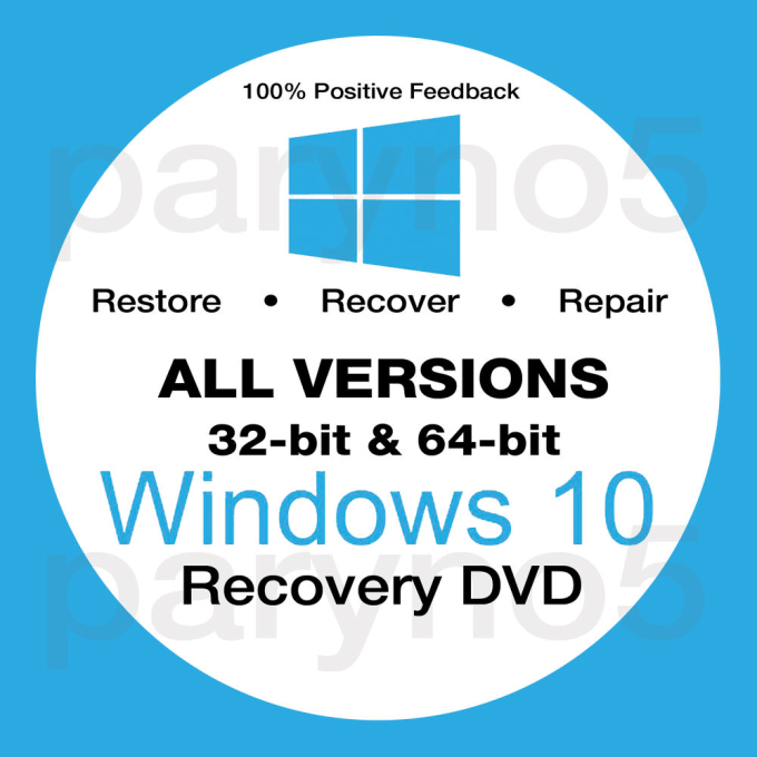 windows 10 make recovery disk