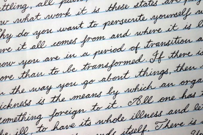 cursive handwrite anything in copperplate script