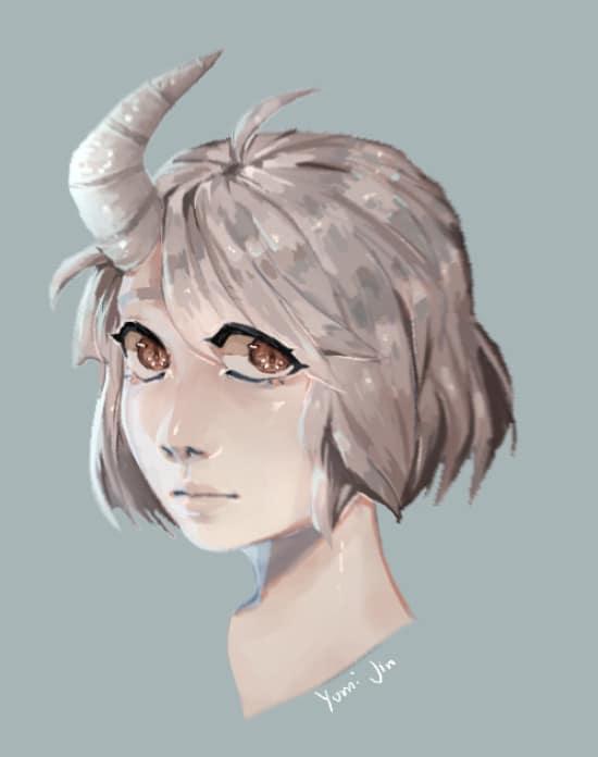 create semi realistic drawings by yumijin