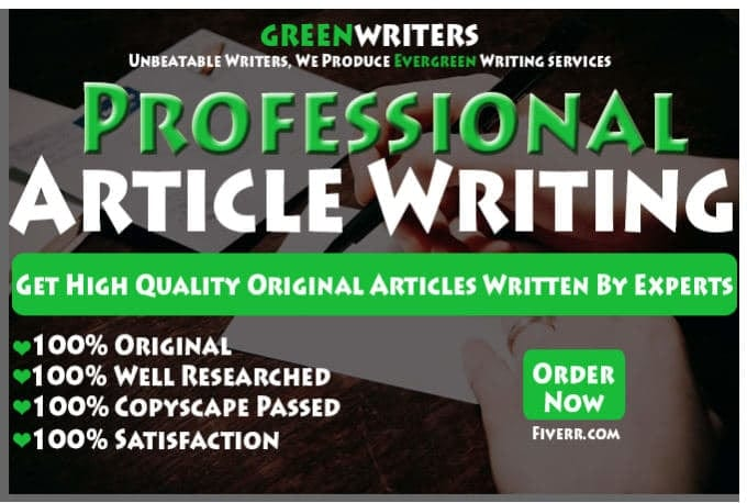 Write Trade Publication Article Video Salesletter And Advertorials
