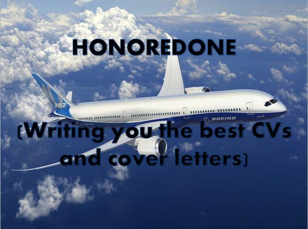 Write, rewrite, edit your cv and cover letter by Honoredone