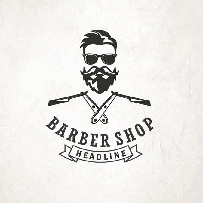 barber logo download - 675×675