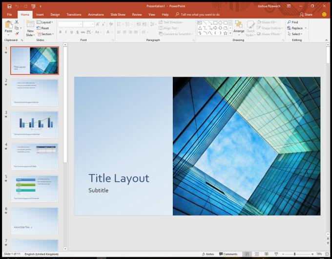 create amazing presentation design by nyawach