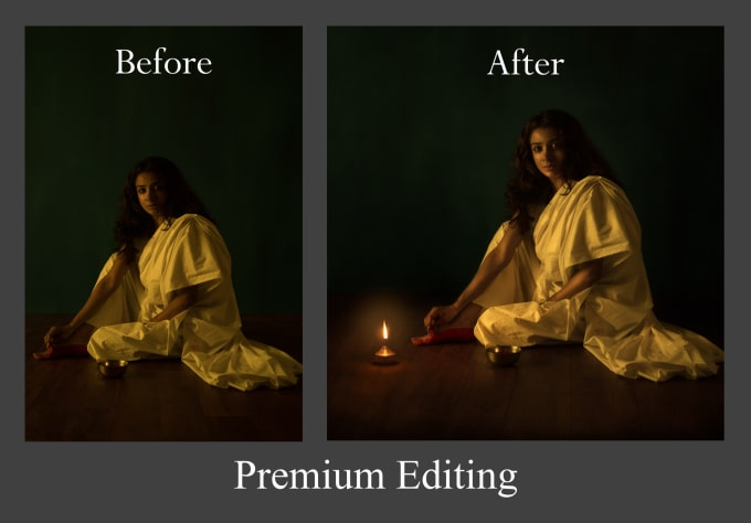 retouch your photo to achieve the best look