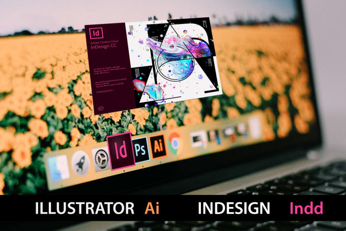 Edit Adobe Illustrator Ai Or Indesign Indd Template