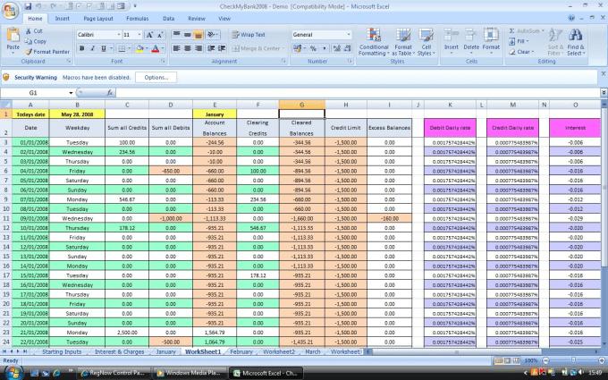 make best excel sheet to work efficeint