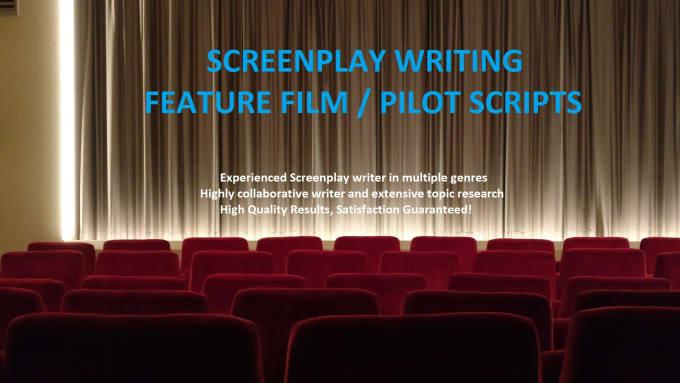write screenplay, story, pilot script