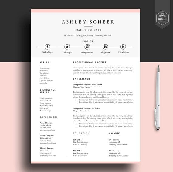 design or edit cv  cover letter and resume within 24 hours