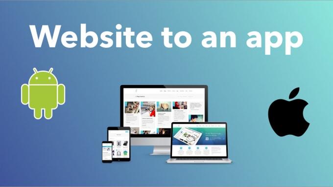 turn your website into an ios app