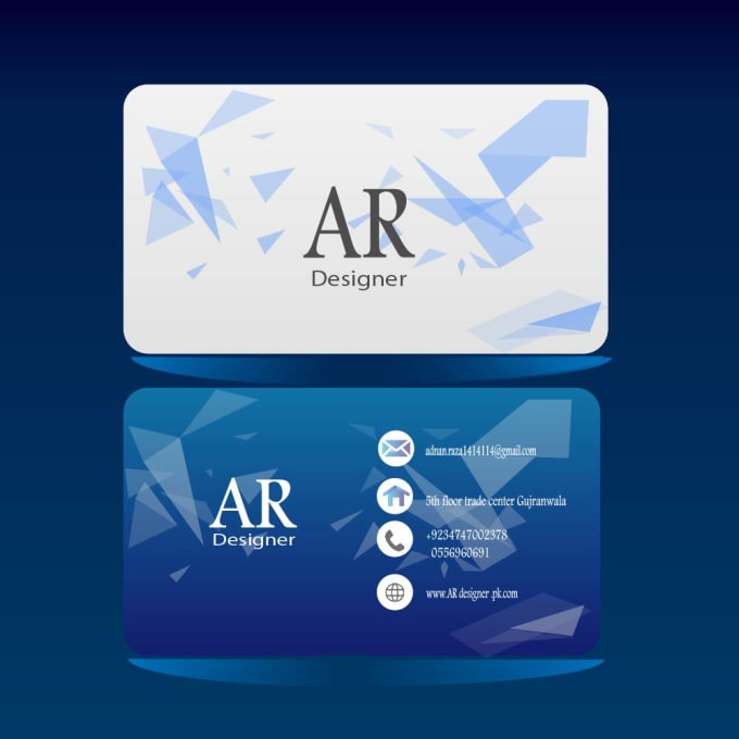 Design professional business card logo by adnanraza123 design professional business card logo reheart Choice Image