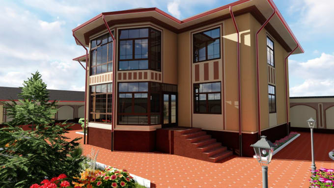 Design 3d House Models And Plan 2d House Floor