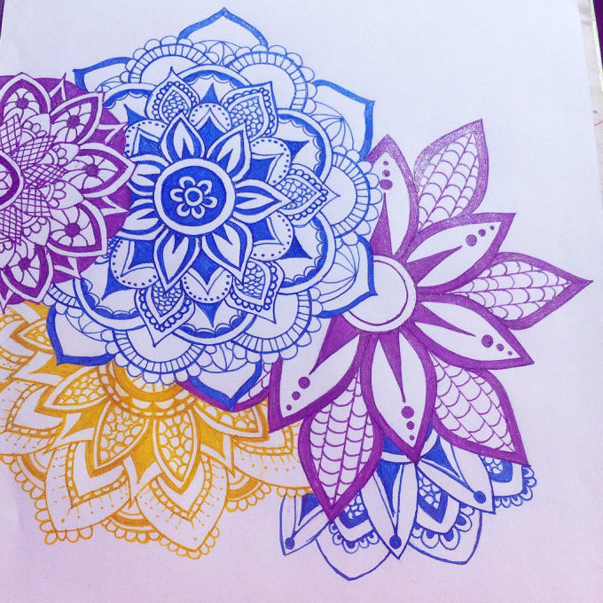 Create A Custom Mandala From Sketches To High Definition